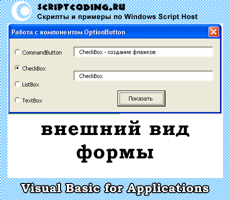 vba OptionButton